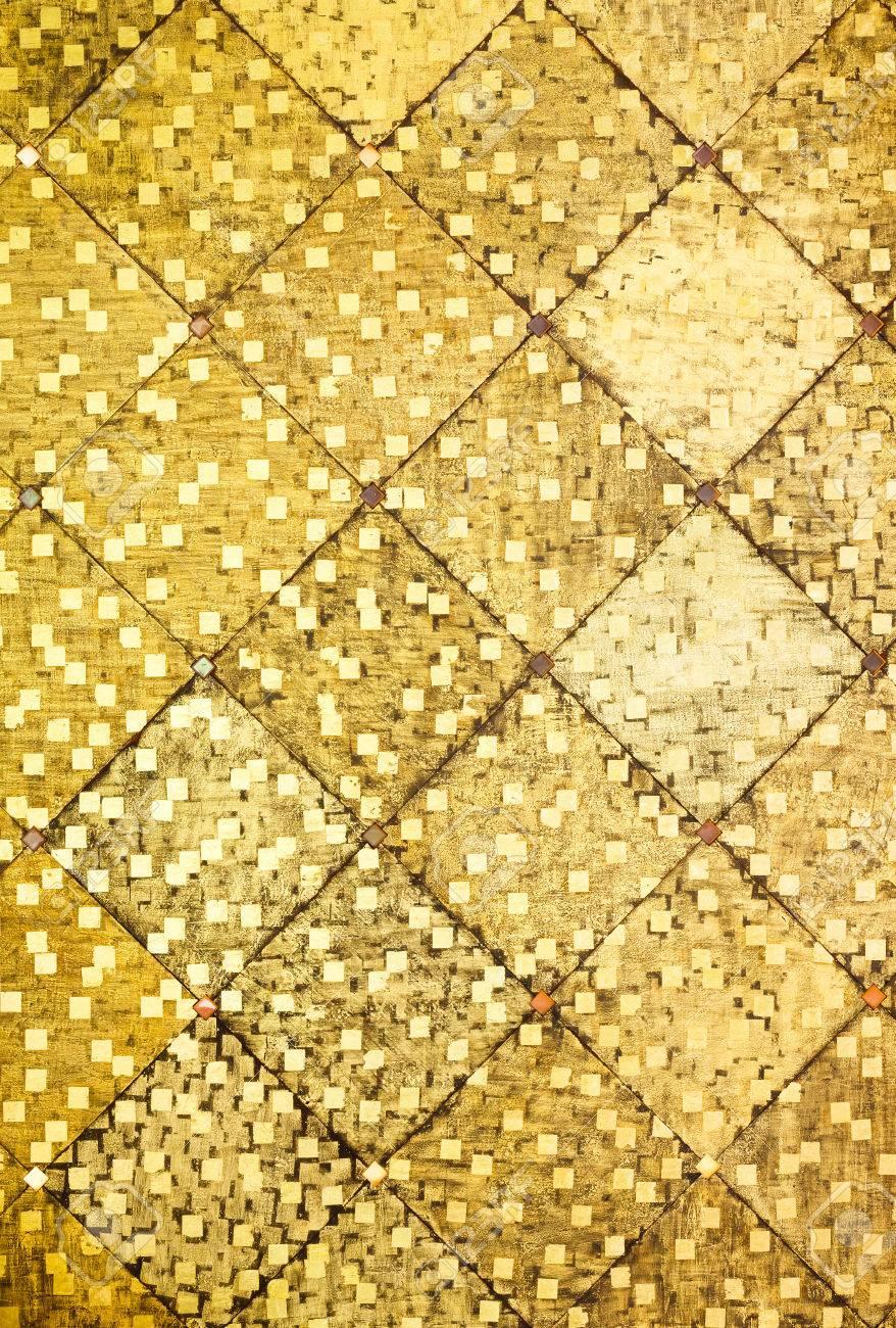 Close up Golden Color Oriental