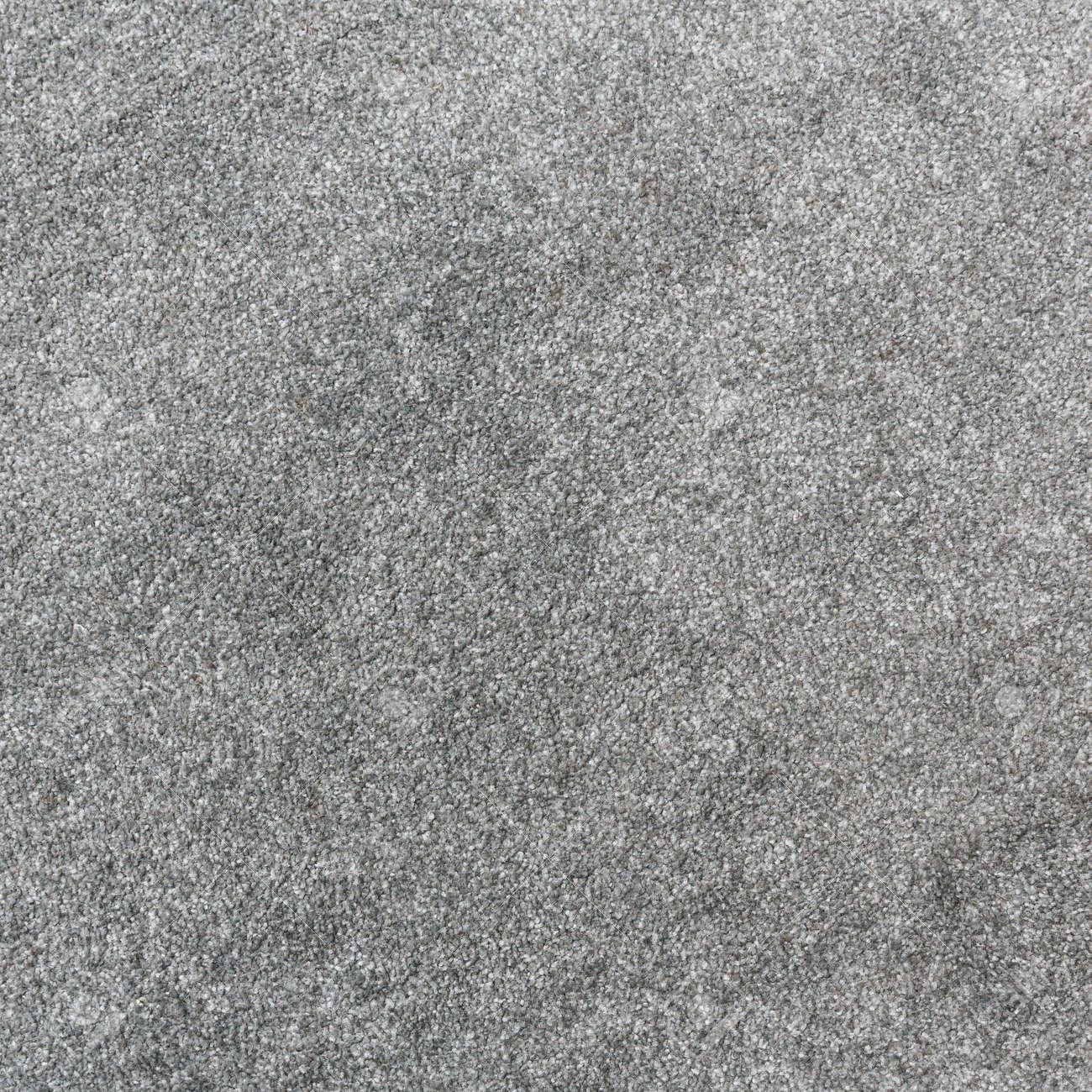 close up viejo y sucio textura de la alfombra de color gris foto de archivo