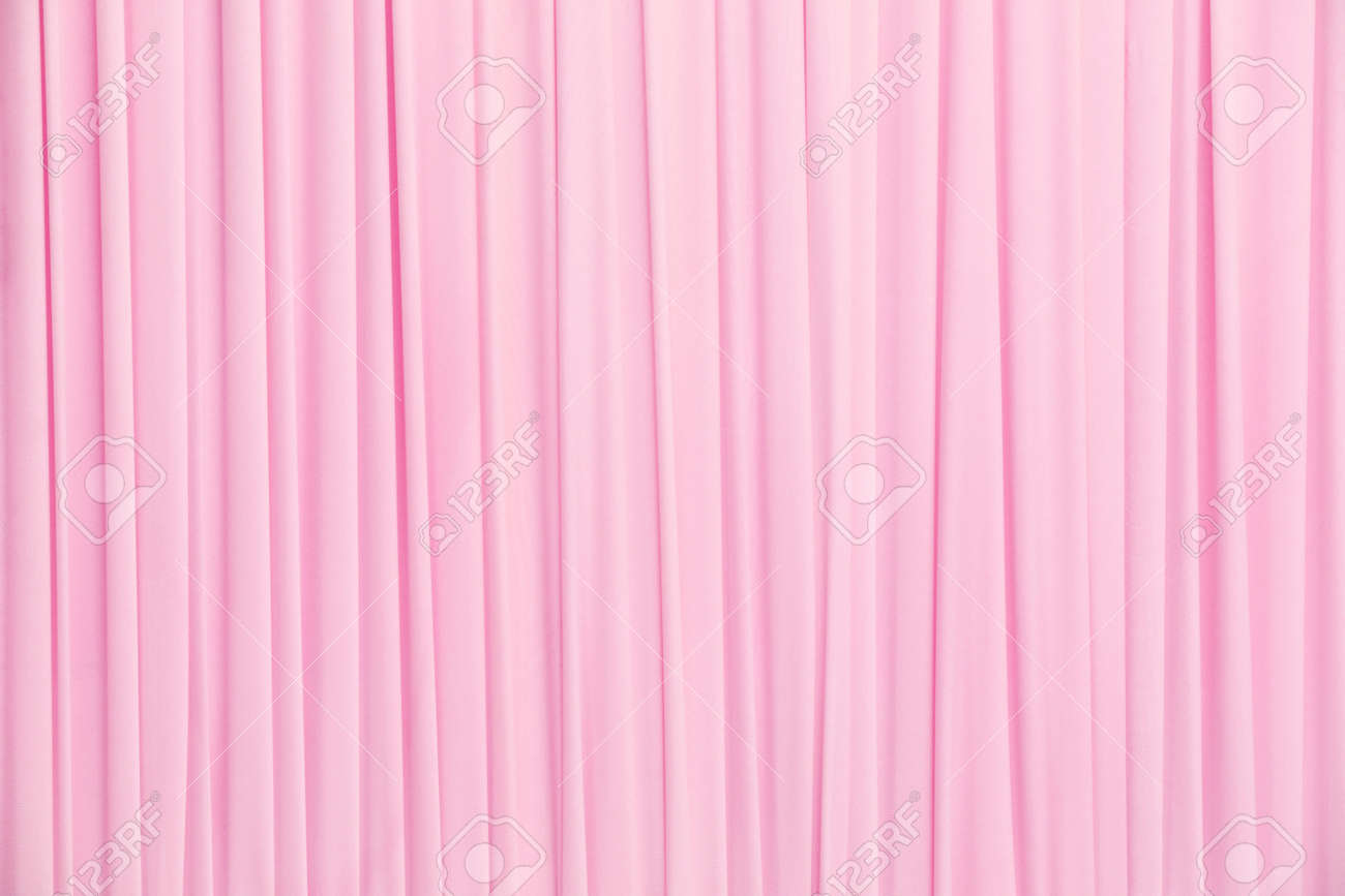 White curtain texture - Close Up Pink Color Curtain Texture Background Stock Photo 29975644