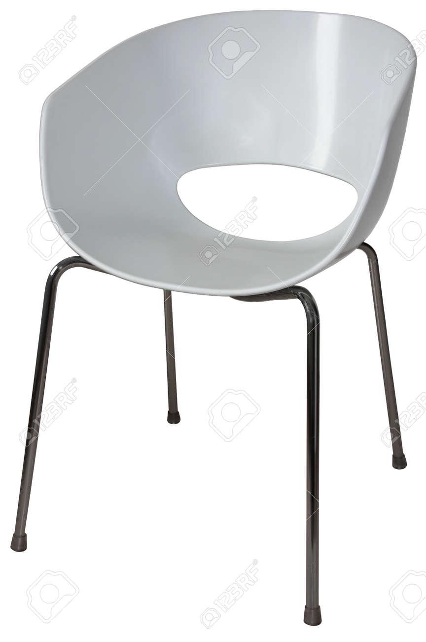 Modernas sillas de plástico para oficinas y salas de espera