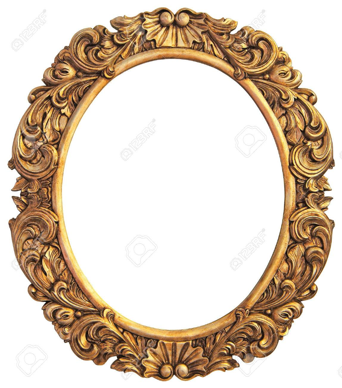 Antique gilded frame isolated stock photo picture and royalty antique gilded frame isolated stock photo 23333295 jeuxipadfo Images