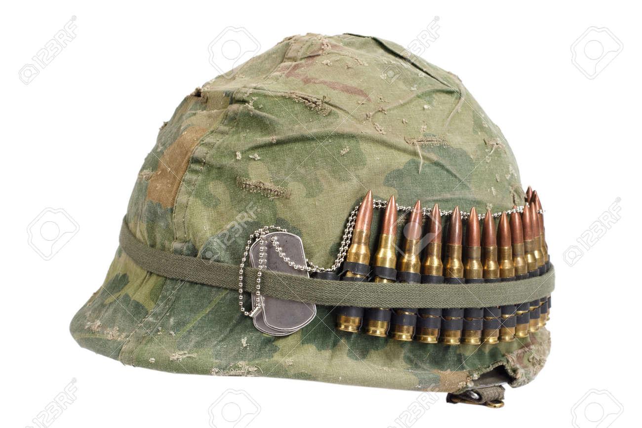 Couverture Camouflage casque armée américaine avec une couverture de camouflage et de