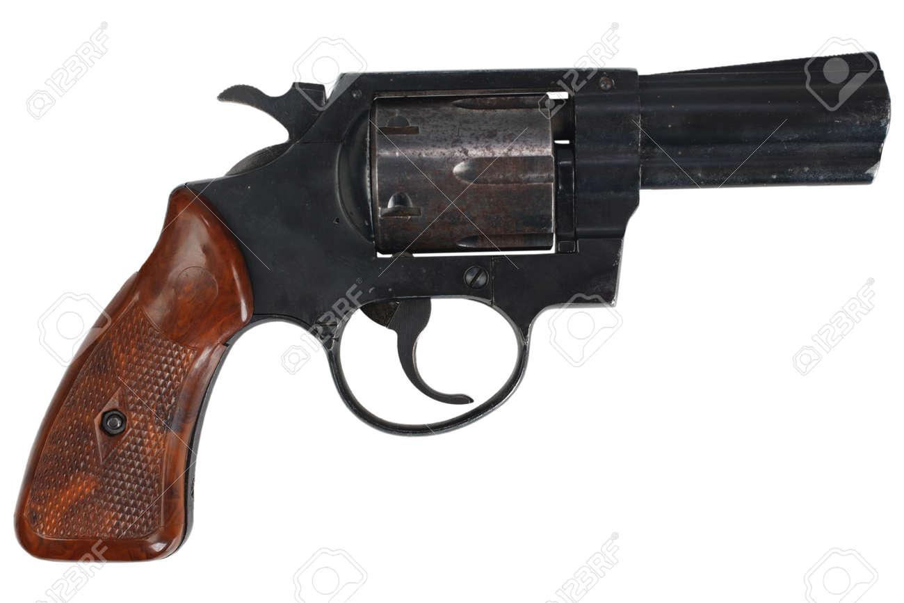 Revolver isolated on white - 106005700