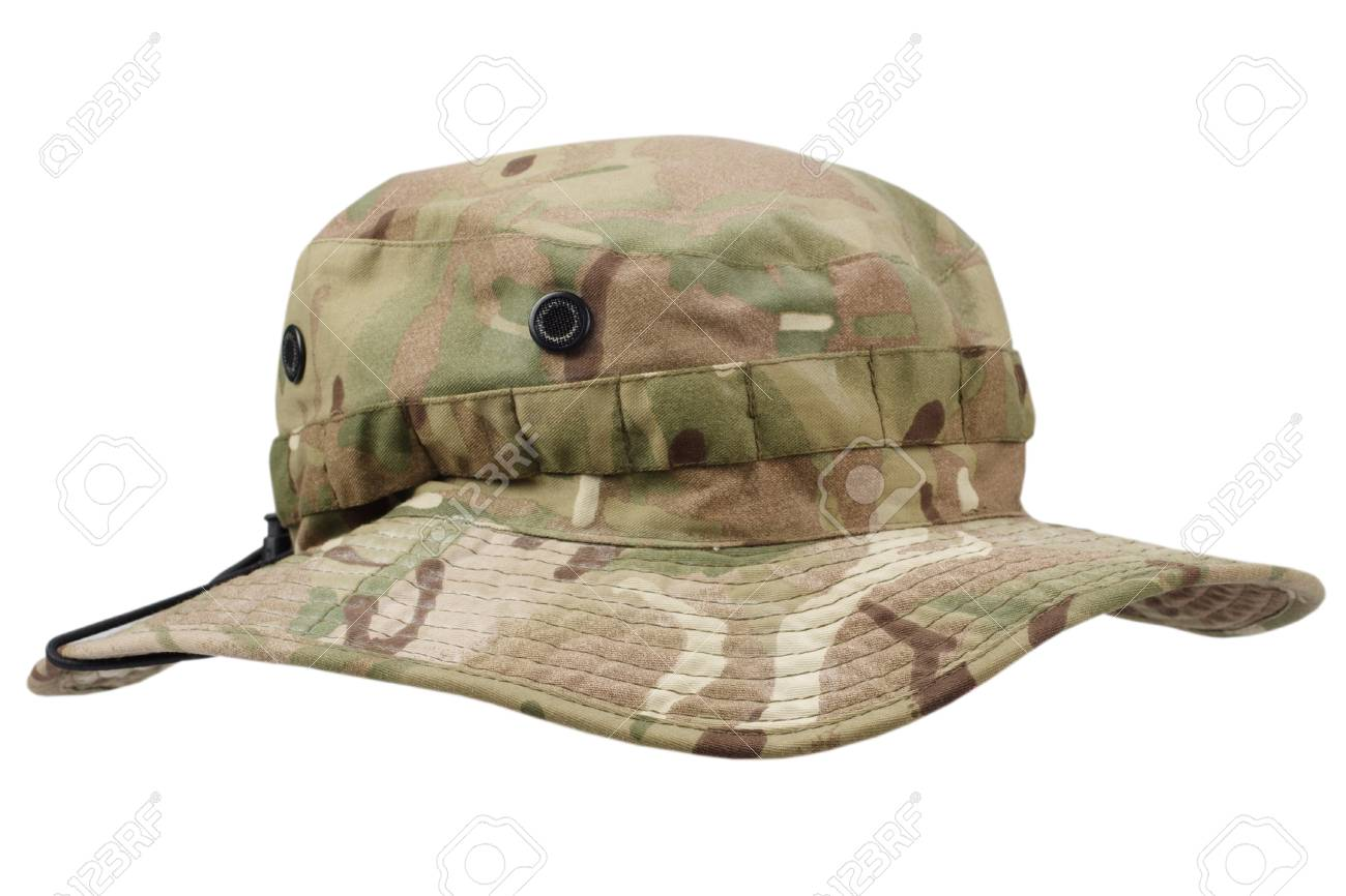 a3773c4e2281b0 Boonie Hat Isolated On White Background Stock Photo, Picture And ...