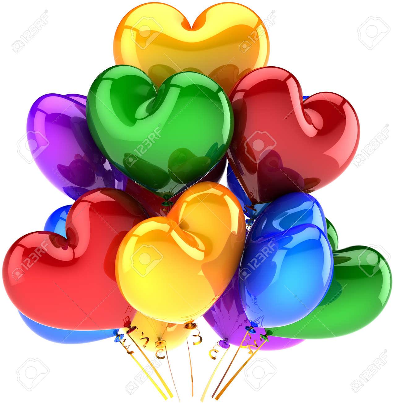 Birthday Balloons Stock Photos & Pictures. Royalty Free Birthday ...