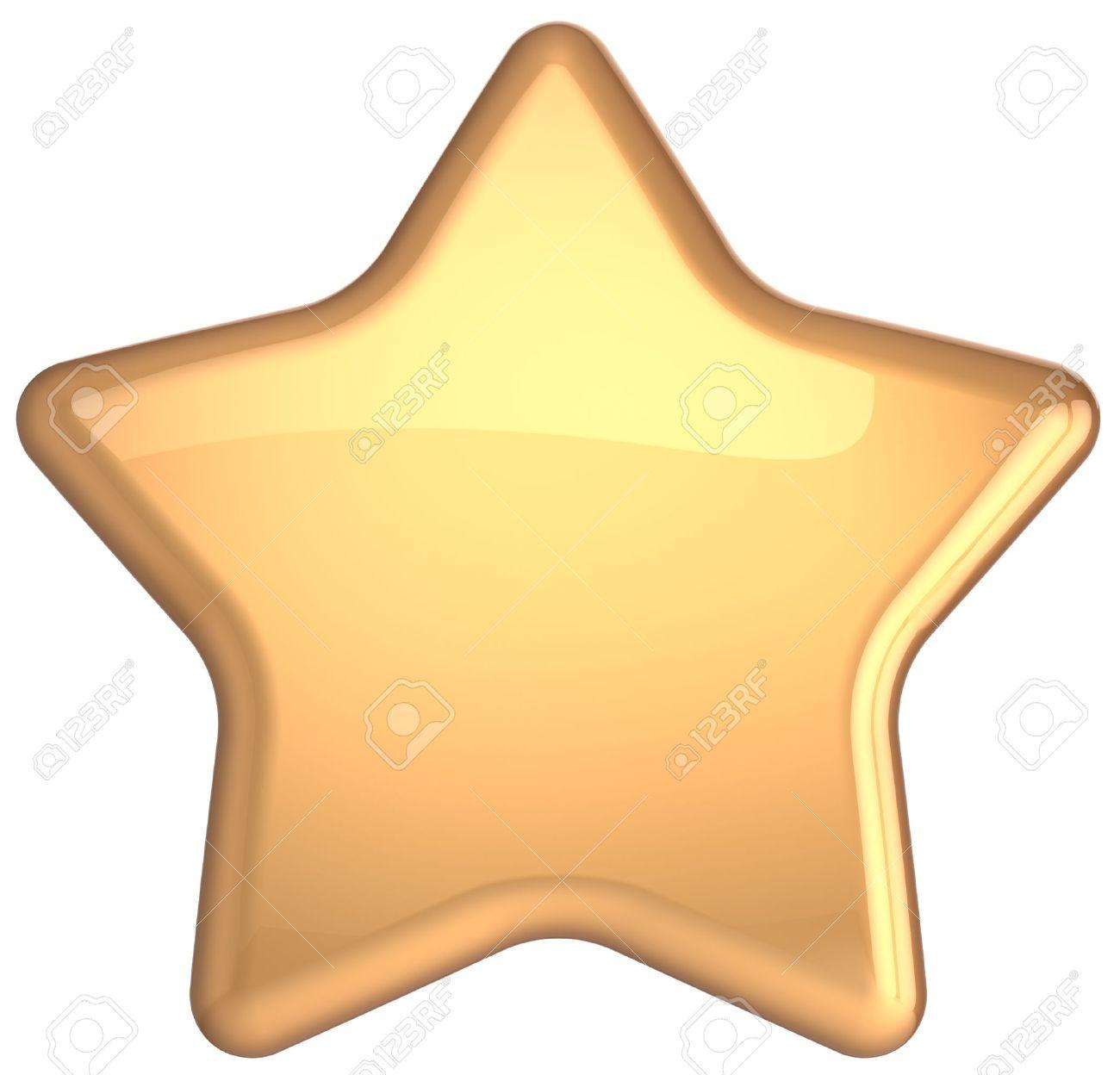 golden star gold decoration prestige congratulation win very stock rh 123rf com free clipart gold star golden star clipart