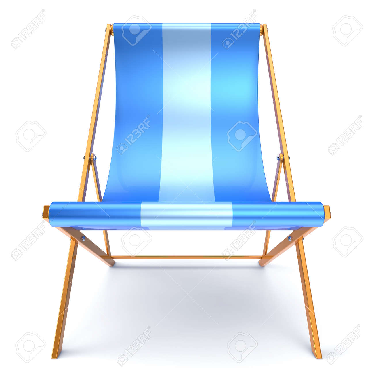 Beach Chair Chaise Longue Nobody Blue Relaxation Holidays Spa Resort Summer  Sun Tropical Sunbathing Travel Leisure