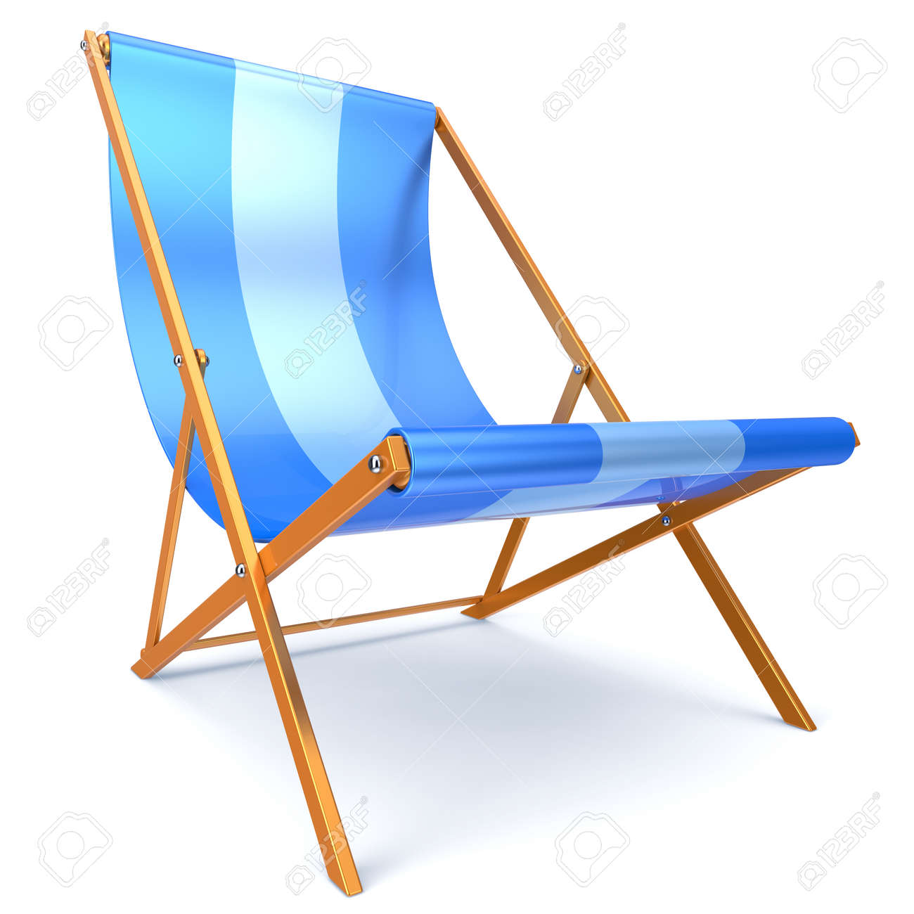Genial Beach Chair Blue Chaise Longue Nobody Relaxation Holidays Spa Resort Summer  Sun Tropical Sunbathing Travel Leisure