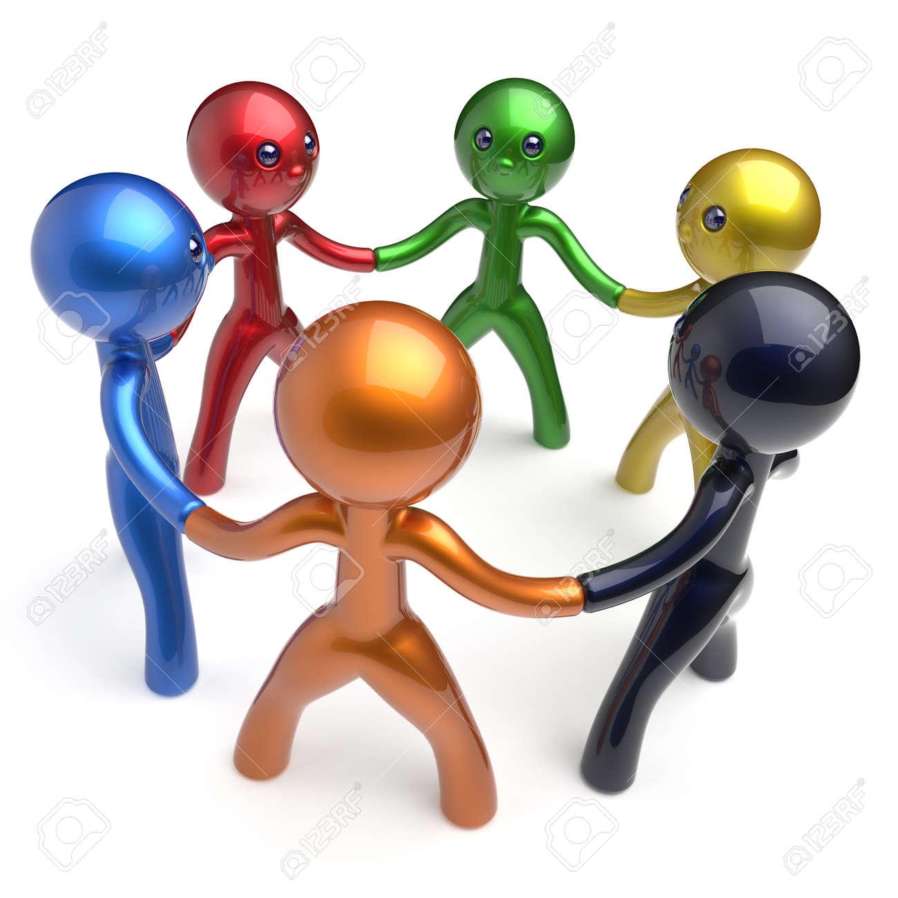 Trabajo En Equipo Brainstorm Red Social Equipo De Recursos Humanos