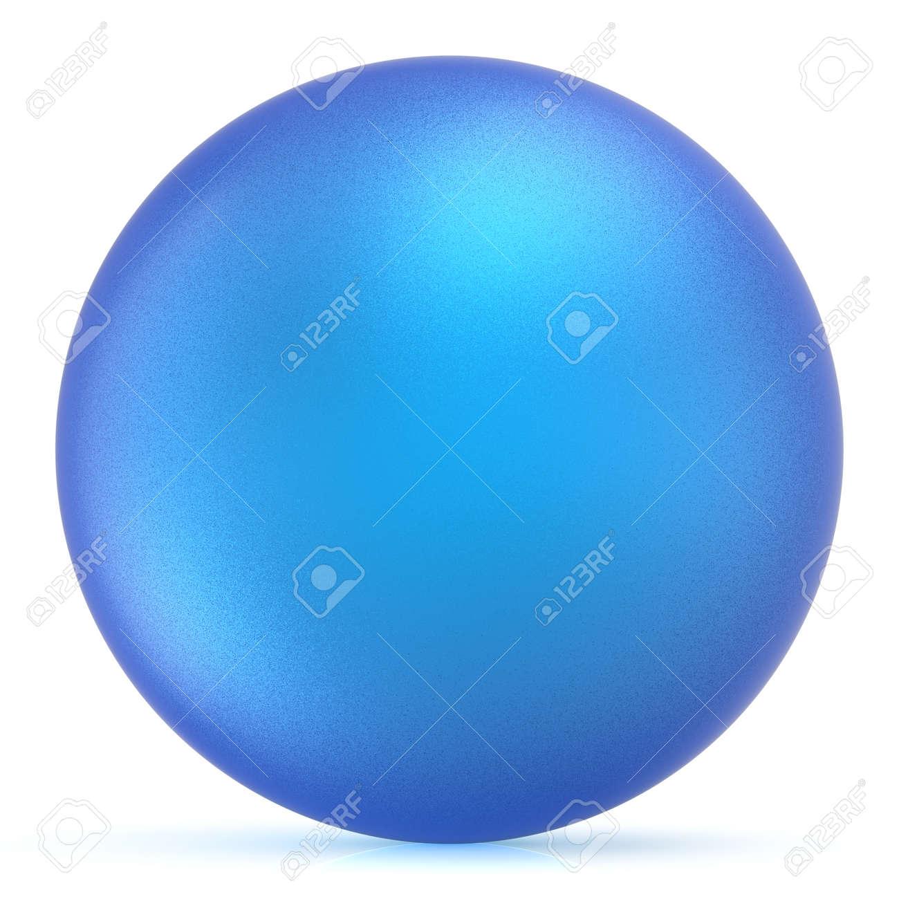 Sphère Bouton Rond Balle Bleue Base Enroulé Cercle Forme Géométrique Solide Figure Simple Minimaliste Atome Unique Objet Cyan Vide Ballon Icône élément De Conception Illustration 3d Isolée Banque D Images Et Photos Libres