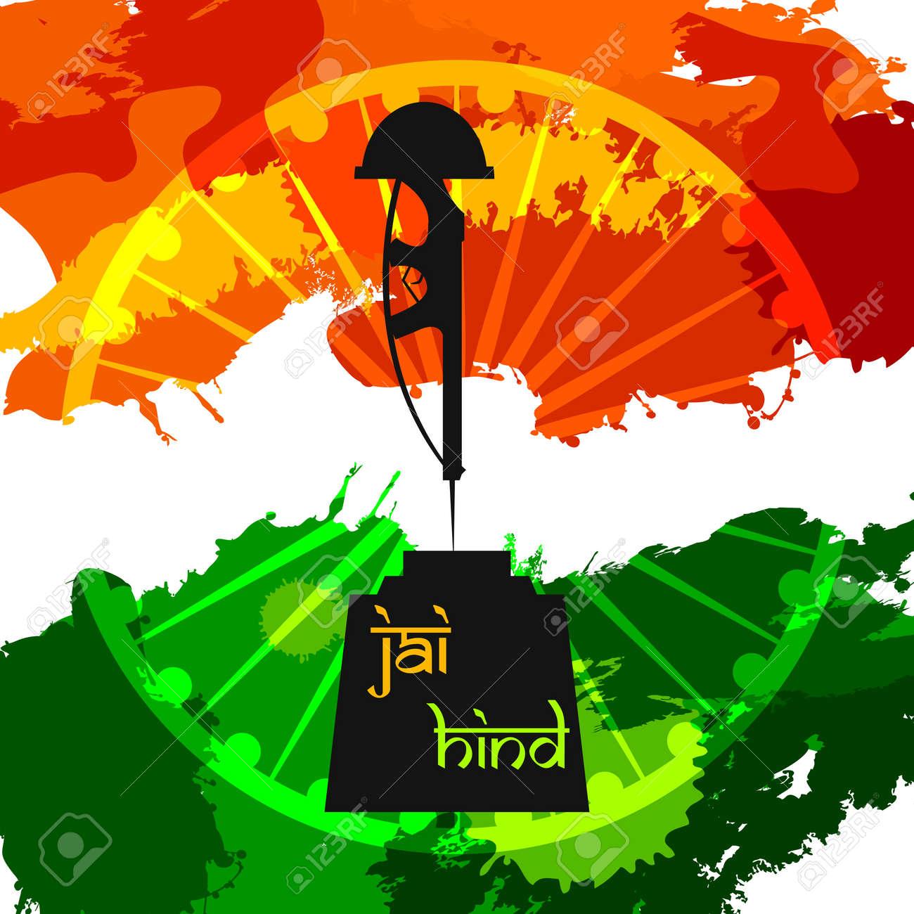India Background Stock Vector - 18627614