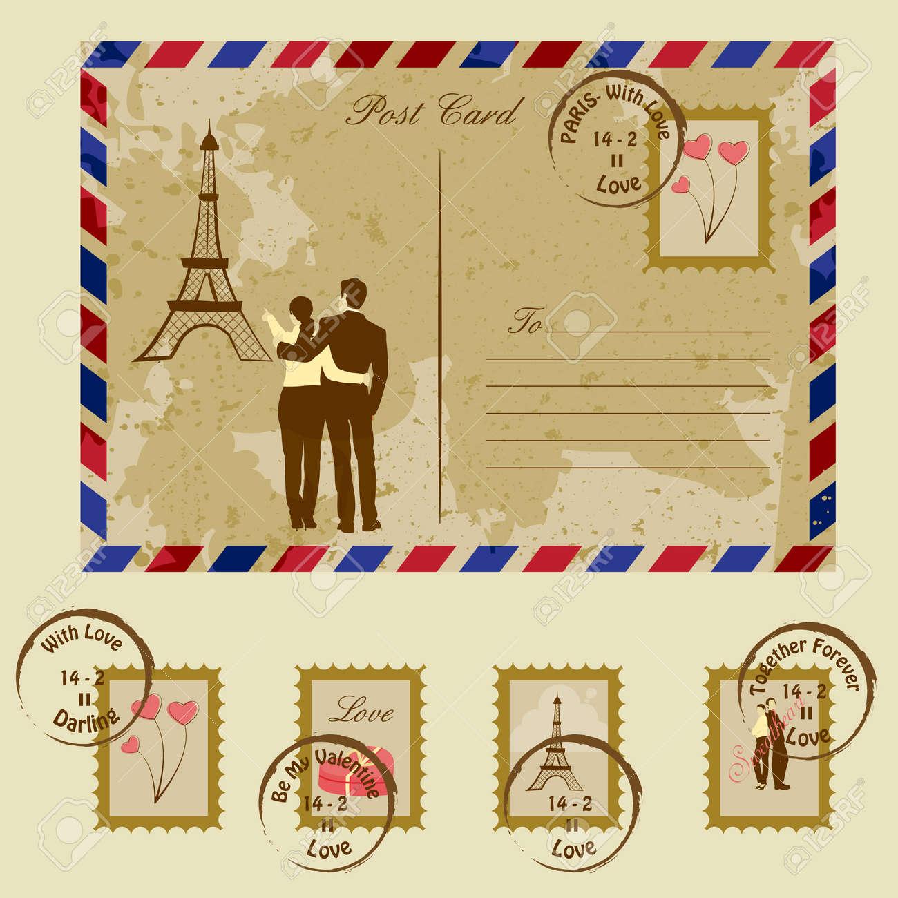 Love Letter Stock Vector - 18627738