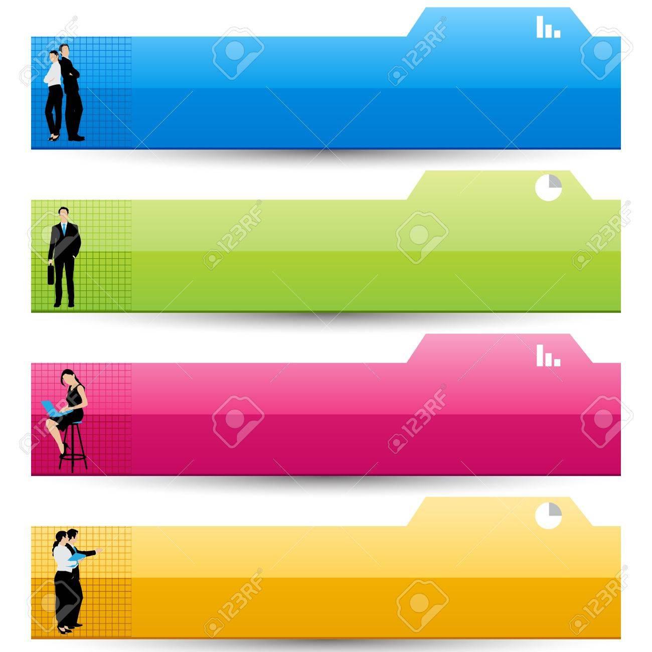 Business Template Stock Vector - 18627765