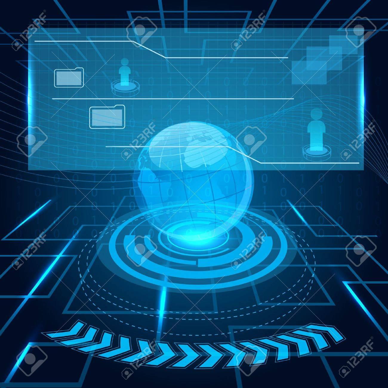 Futuristic Technology Backgrounds Technology Background