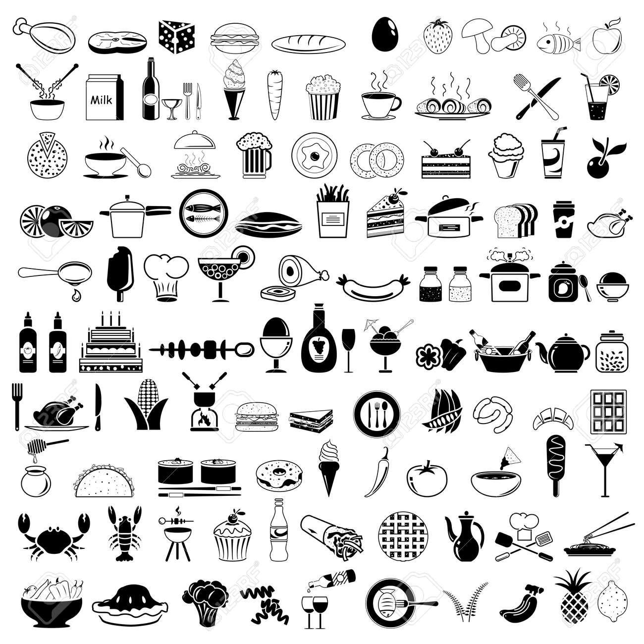 Food icons - 30545337