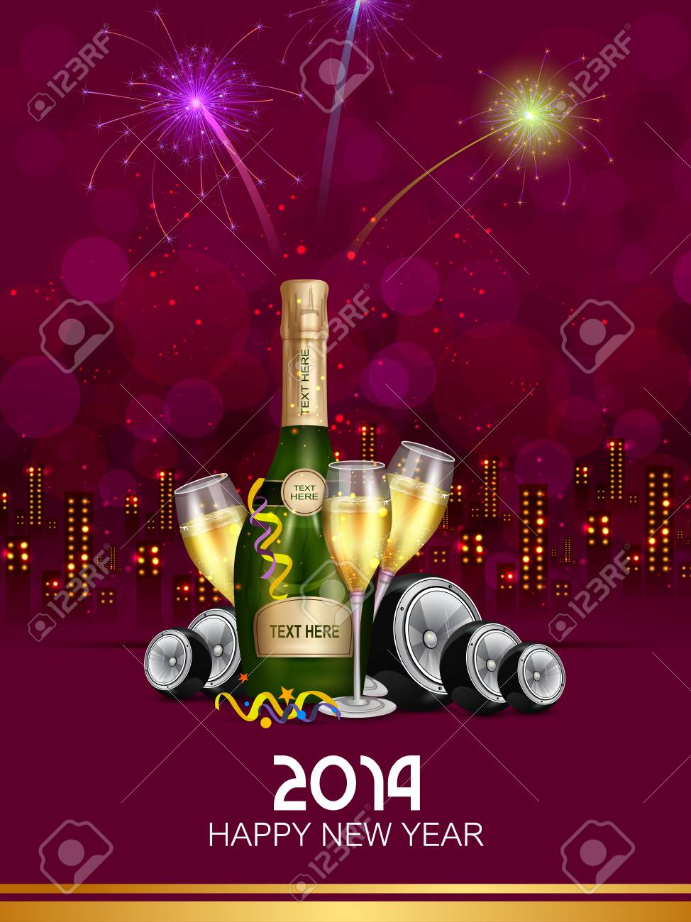 Happy New Year Editing Background 74
