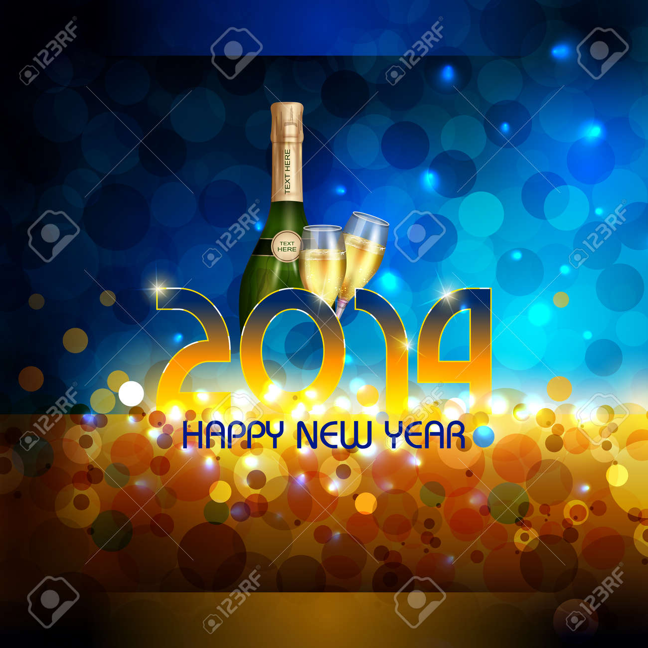 Happy New Year Editing Background 11