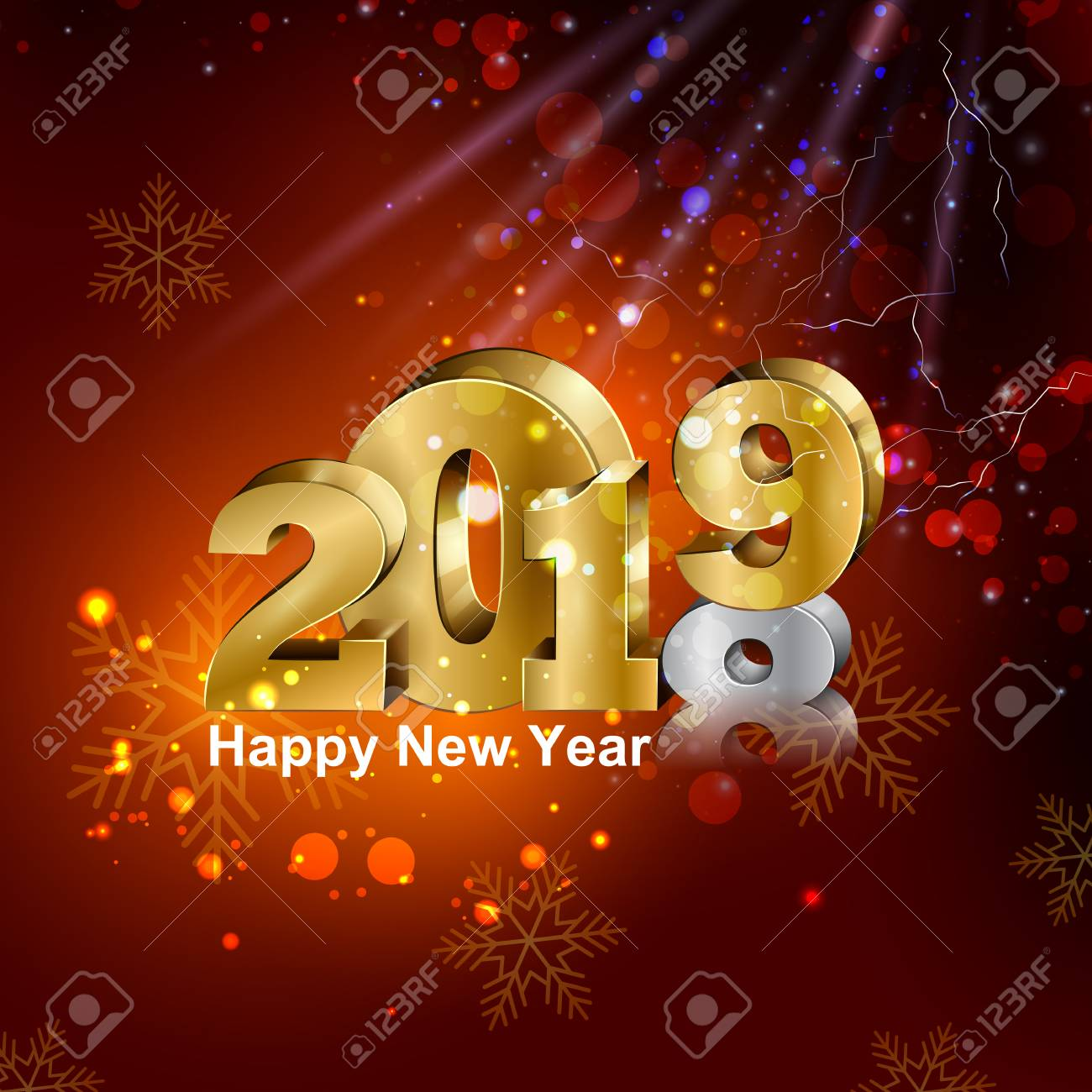 Happy New Year Editing Background 43