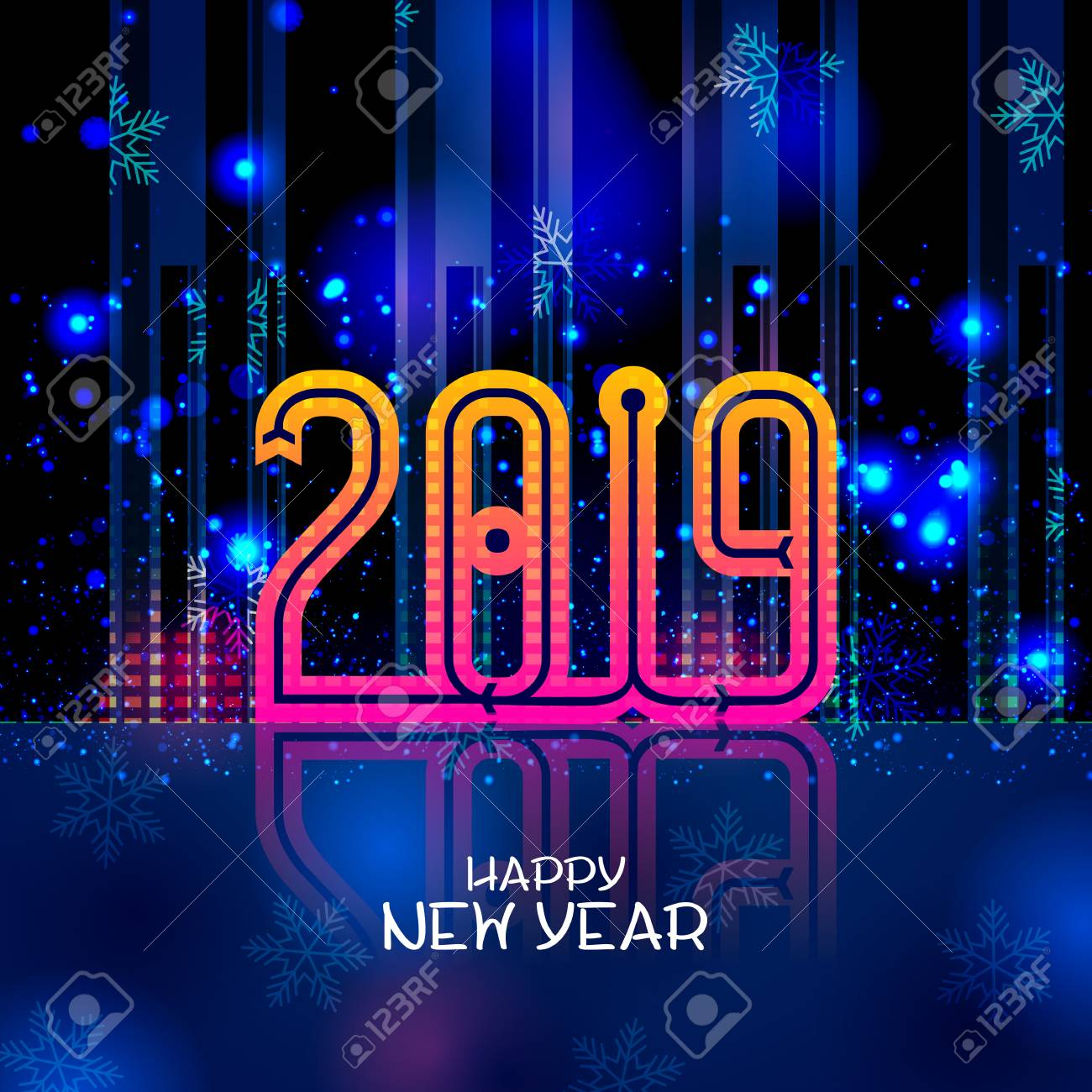 Happy New Year Editing Background 53