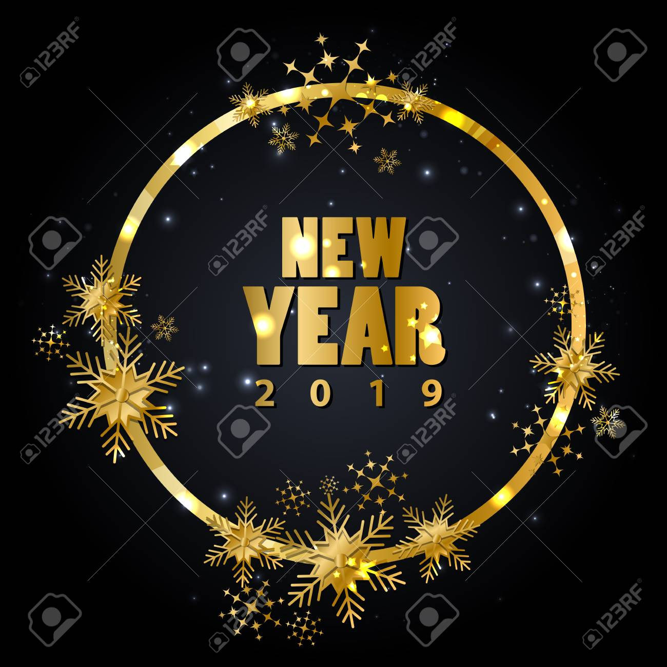 Happy New Year Editing Background 14