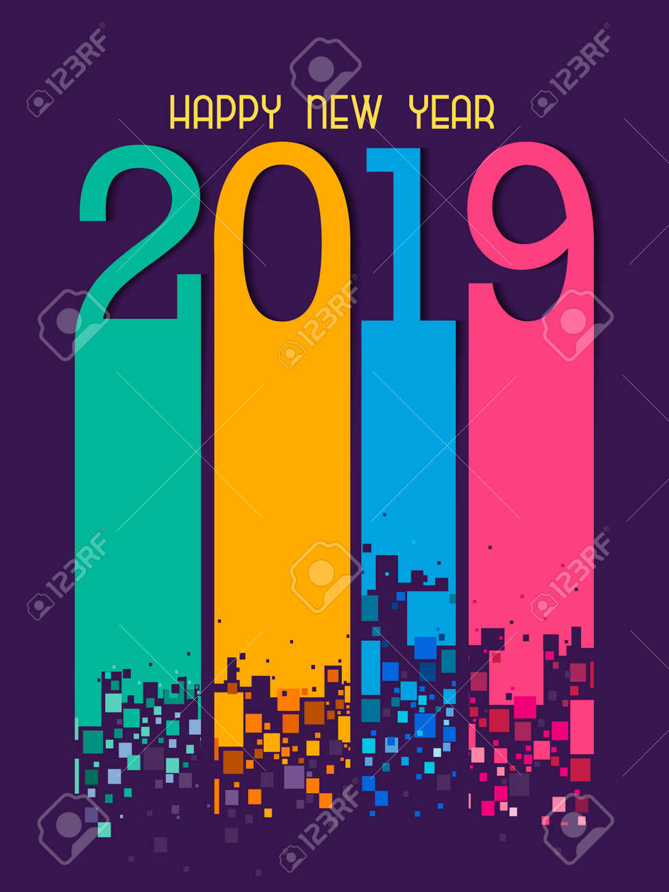 Happy New Year Editing Background 63