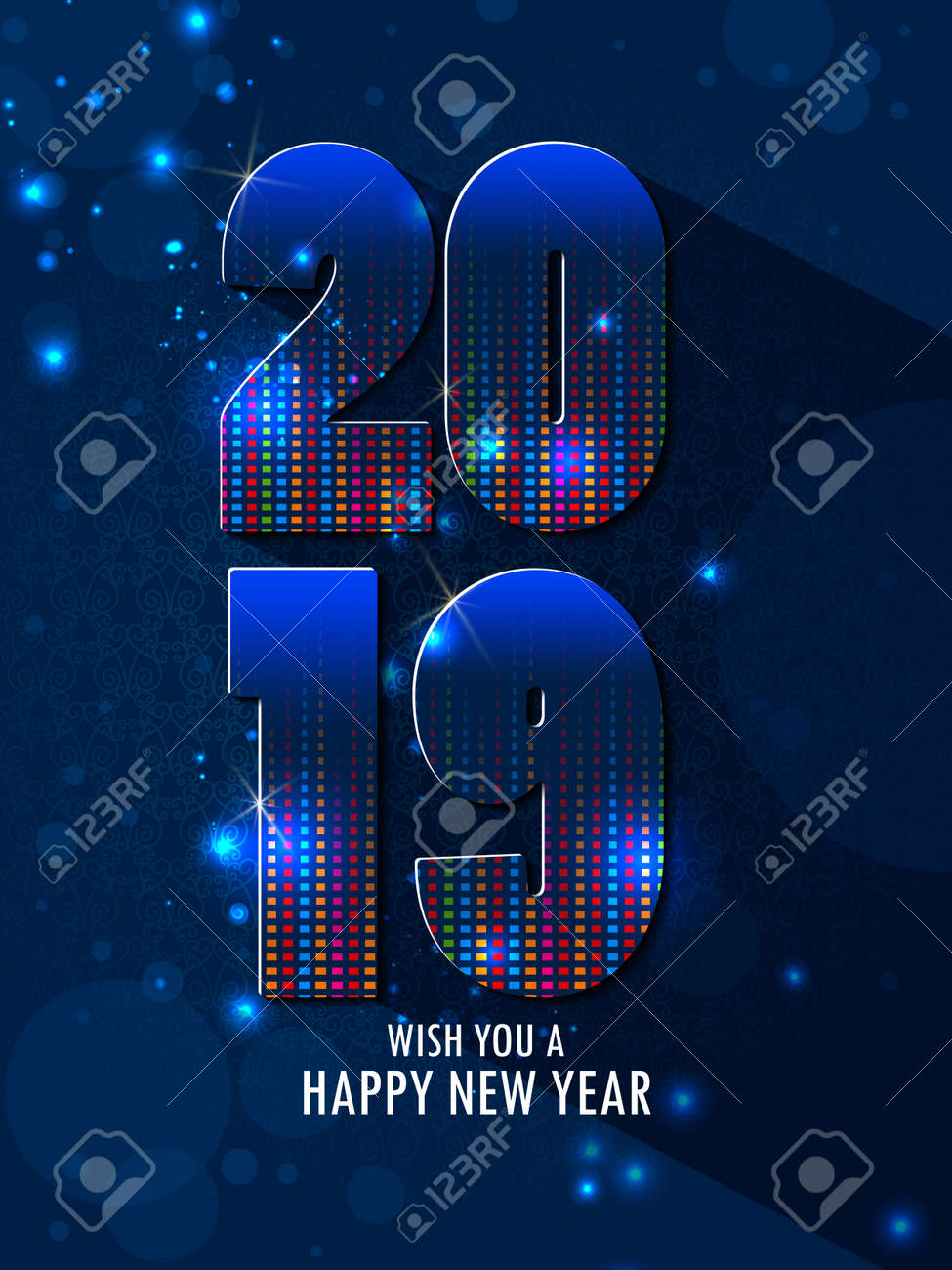 Happy New Year Editing Background 28