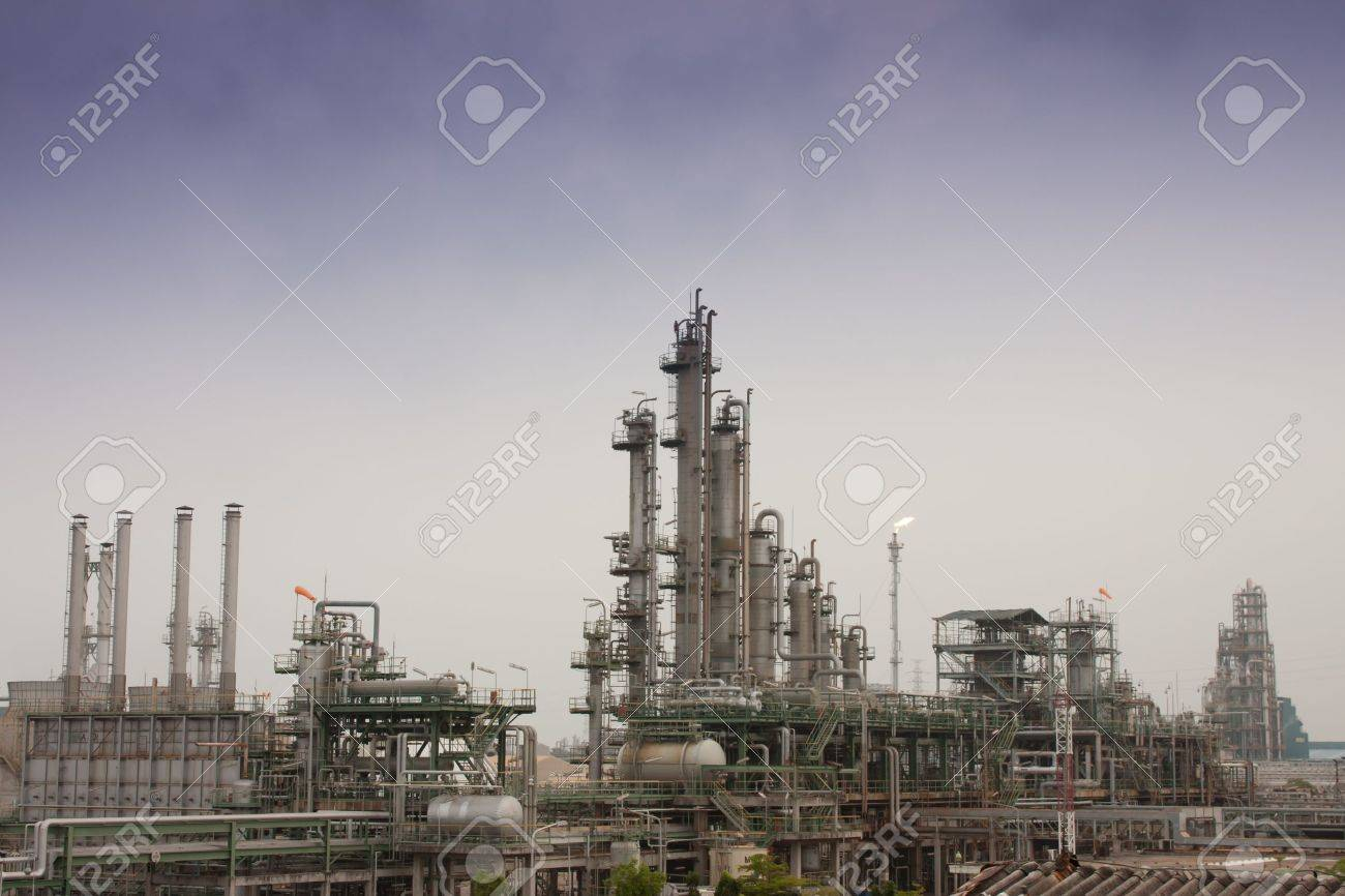 Gas refineries plants Stock Photo - 10003289