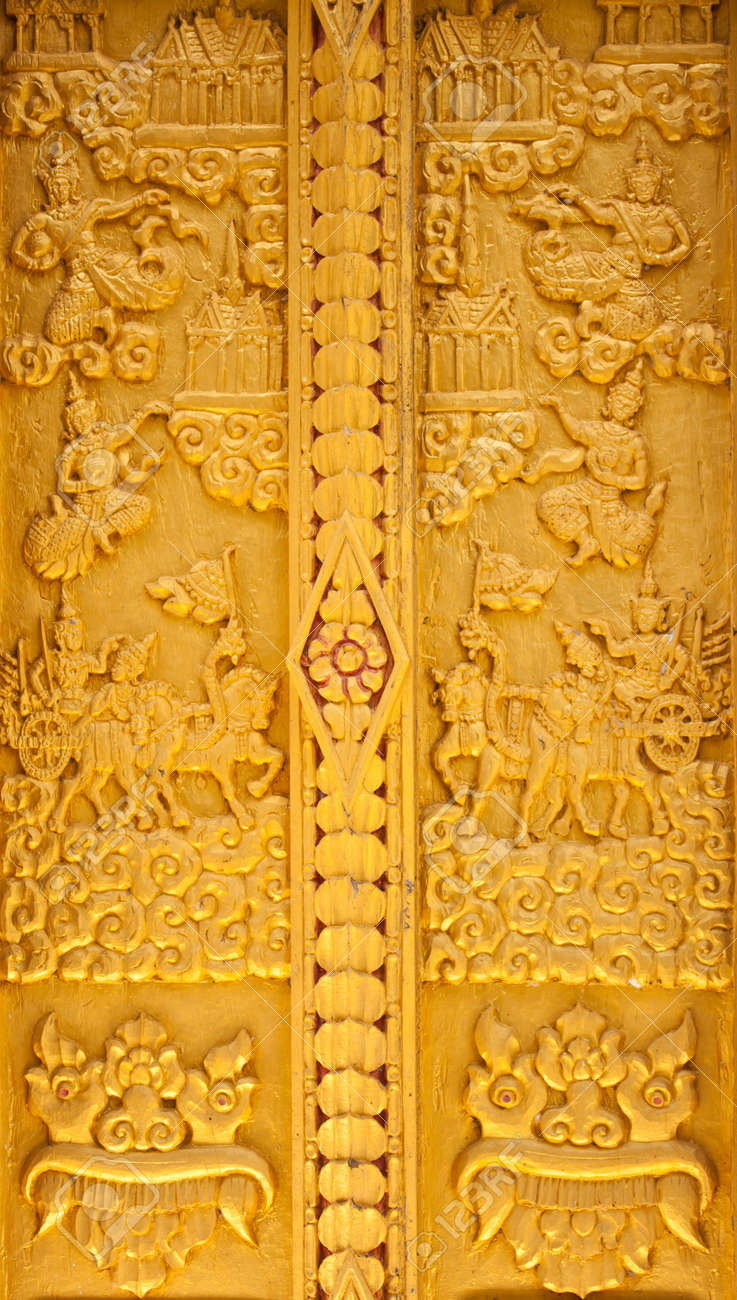 carved door Stock Photo - 11252939