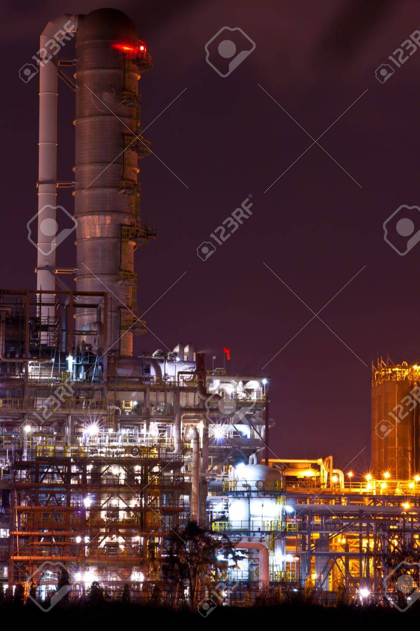 petrochemical plant Stock Photo - 12017842