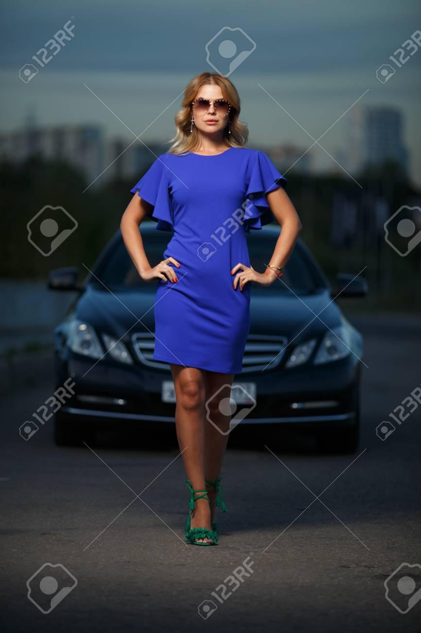 Purple Car Dress