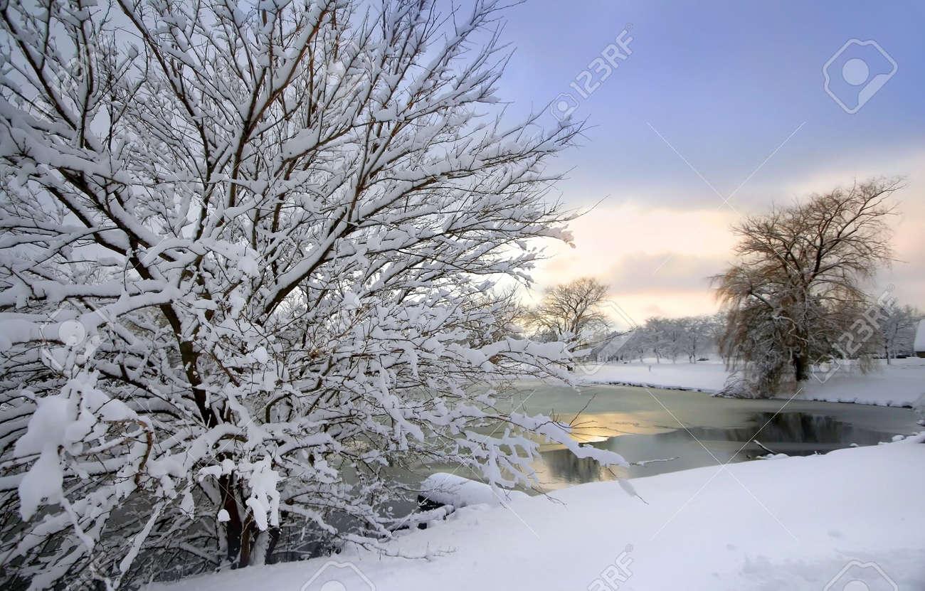 Scenic Winter Landscape Stock Photo - 2316484