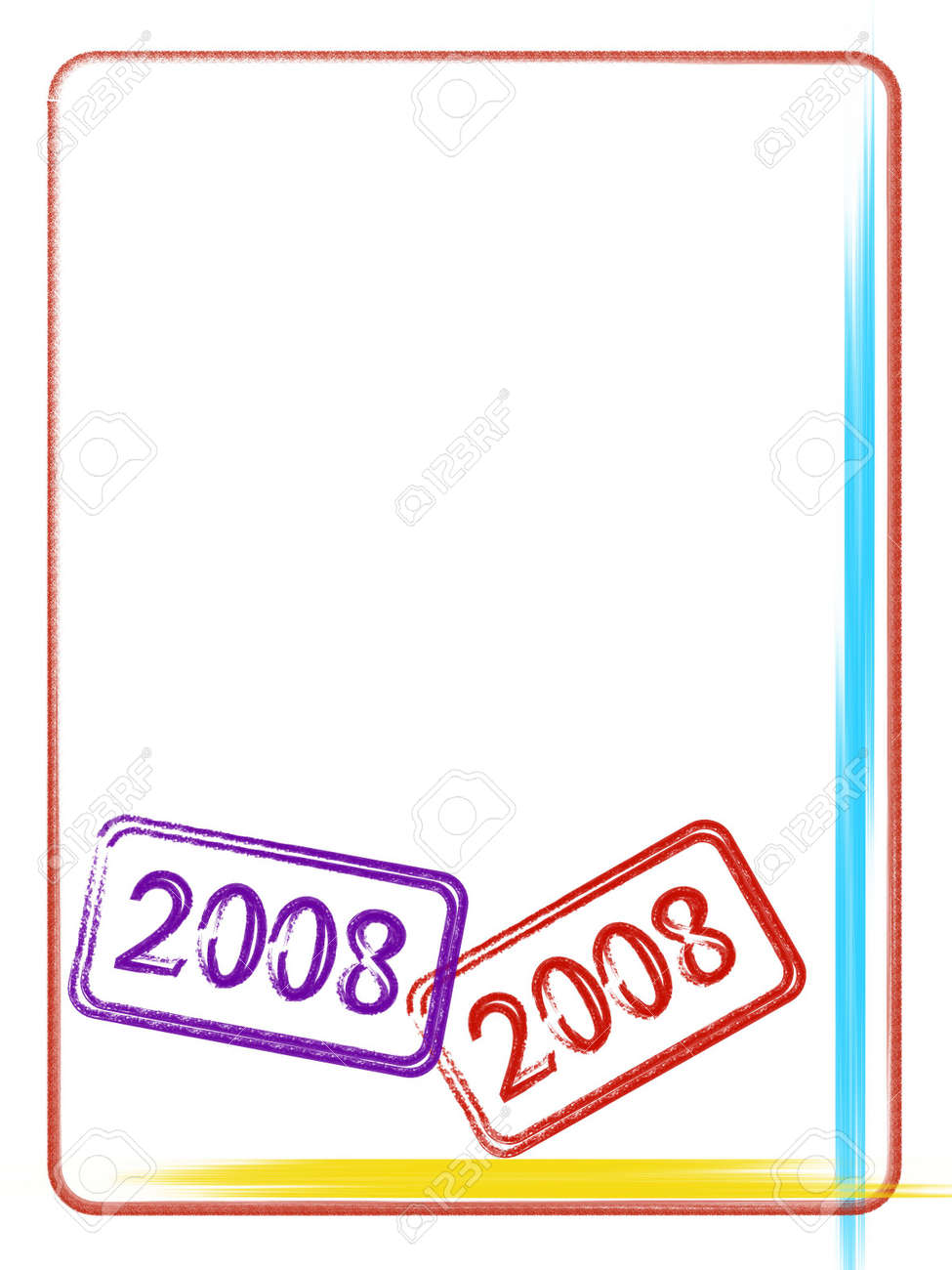 2008 Background Stock Photo - 2478401