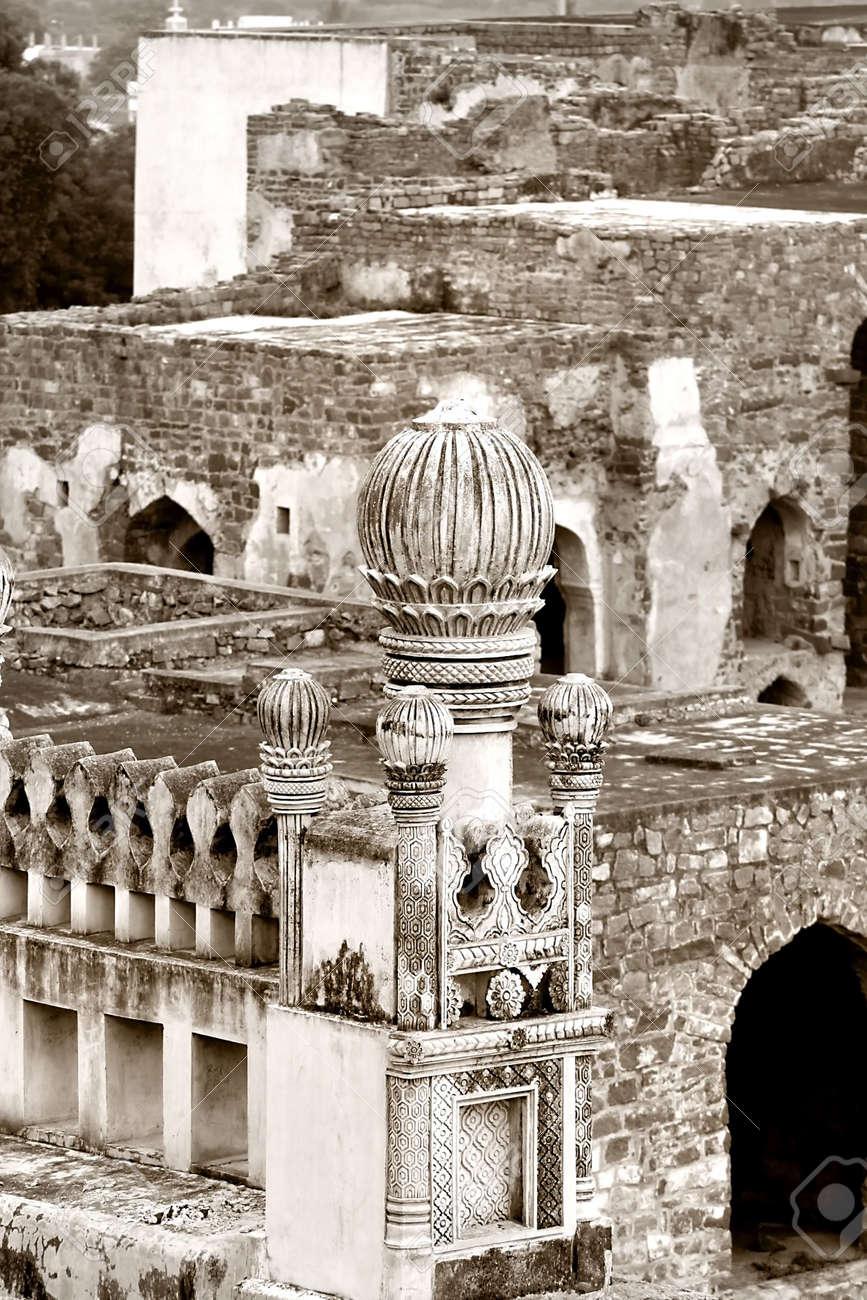 Golkonda Fort Stock Photo - 3493003