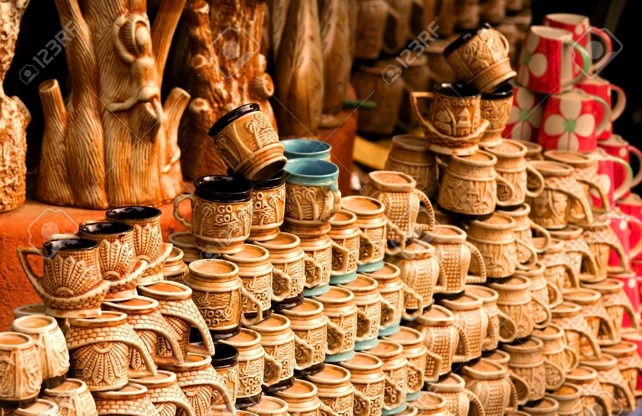 Handicrafts Of India Stock Photo Picture And Royalty Free Image