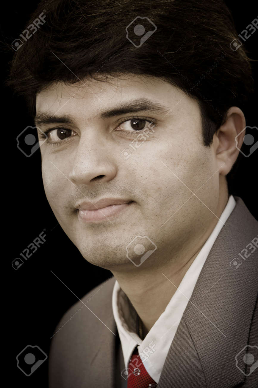 Young Indian Business Man Stock Photo - 4930127