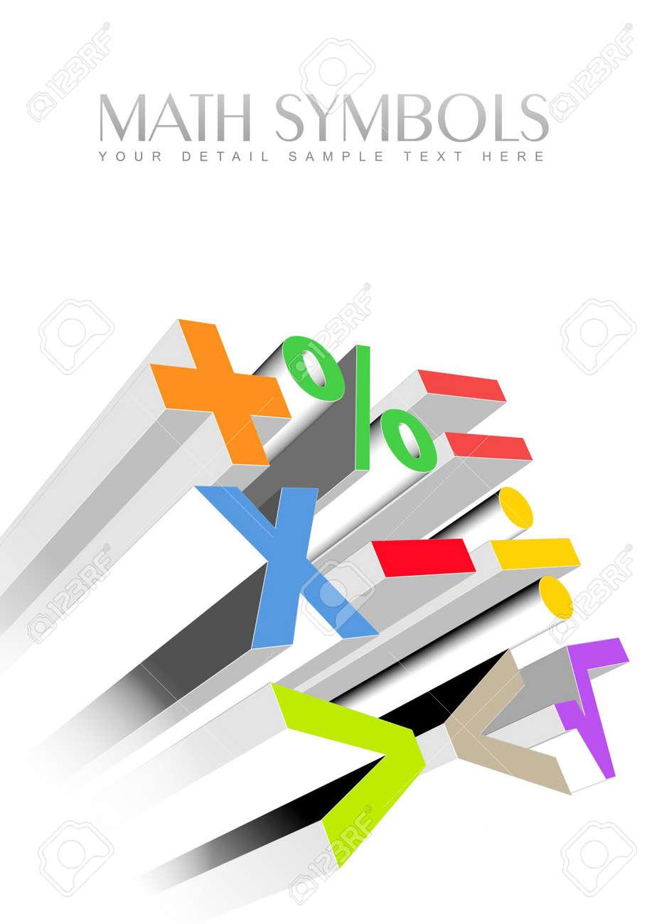 An illustration of 3d colorful math symbols stock photo picture an illustration of 3d colorful math symbols stock illustration 7955281 biocorpaavc Image collections