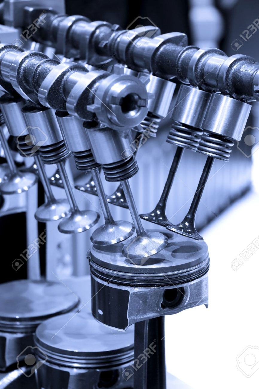 Piston and cylinder details of internal combustion engine Stock Photo - 11768613