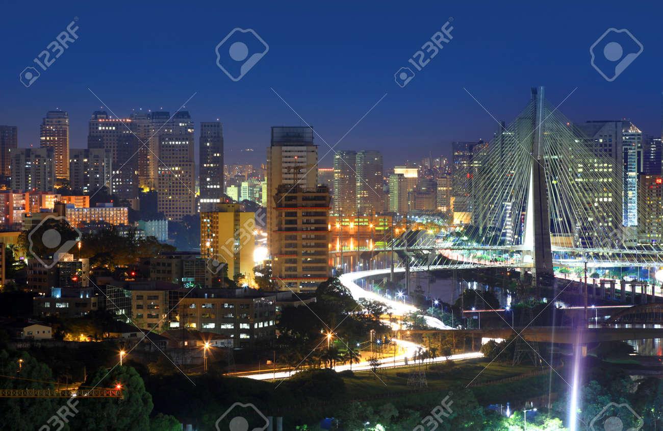 Estaiada Bridge Sao Paulo - 41604672