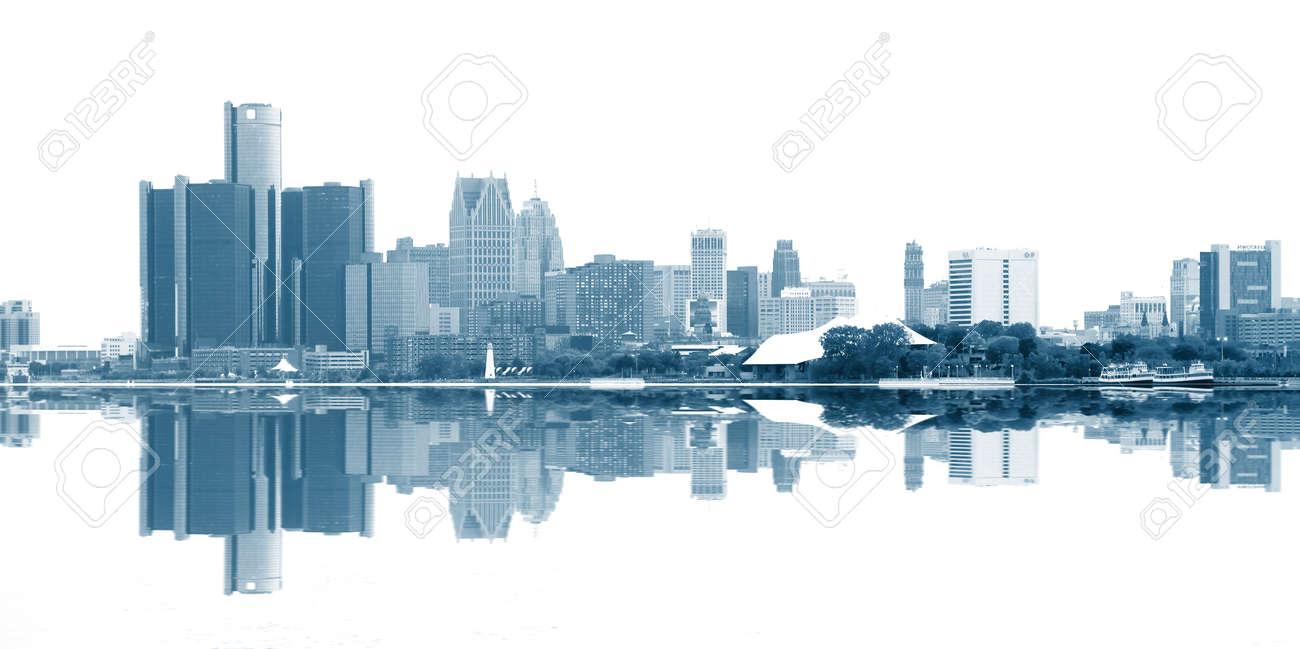 Downtown Detroit - 55264489