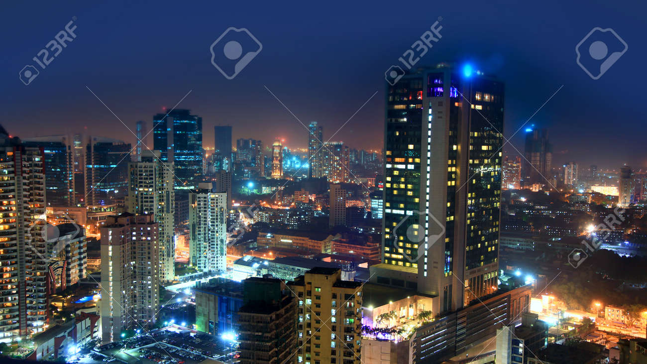 Mumbai, INDIA - December 6 : Mumbai is the financial,commercial and entertainment capital of India, on December 6,2015 Mumbai, India - 120792385