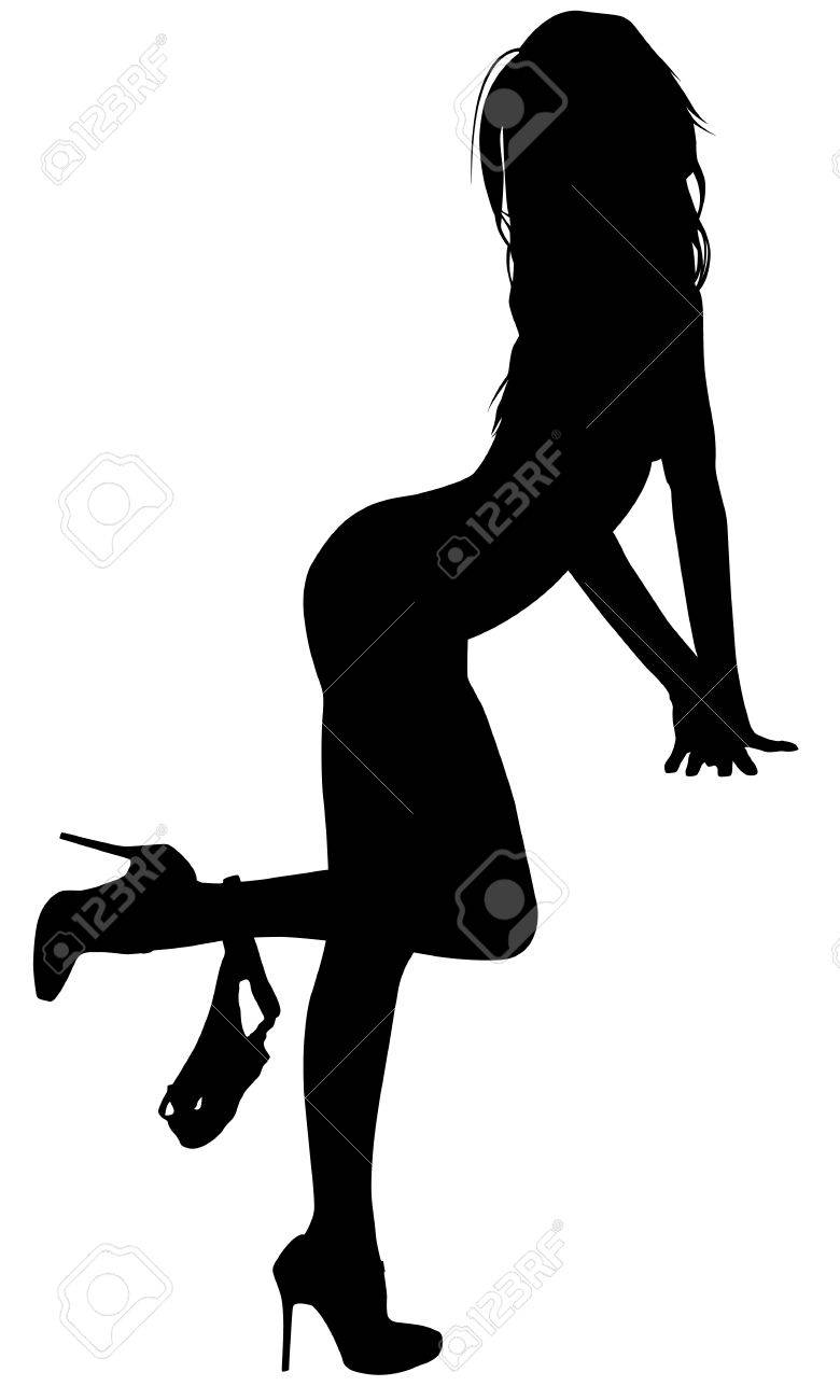 Sexy Woman Silhouette Royalty Free Cliparts Vectors And Stock