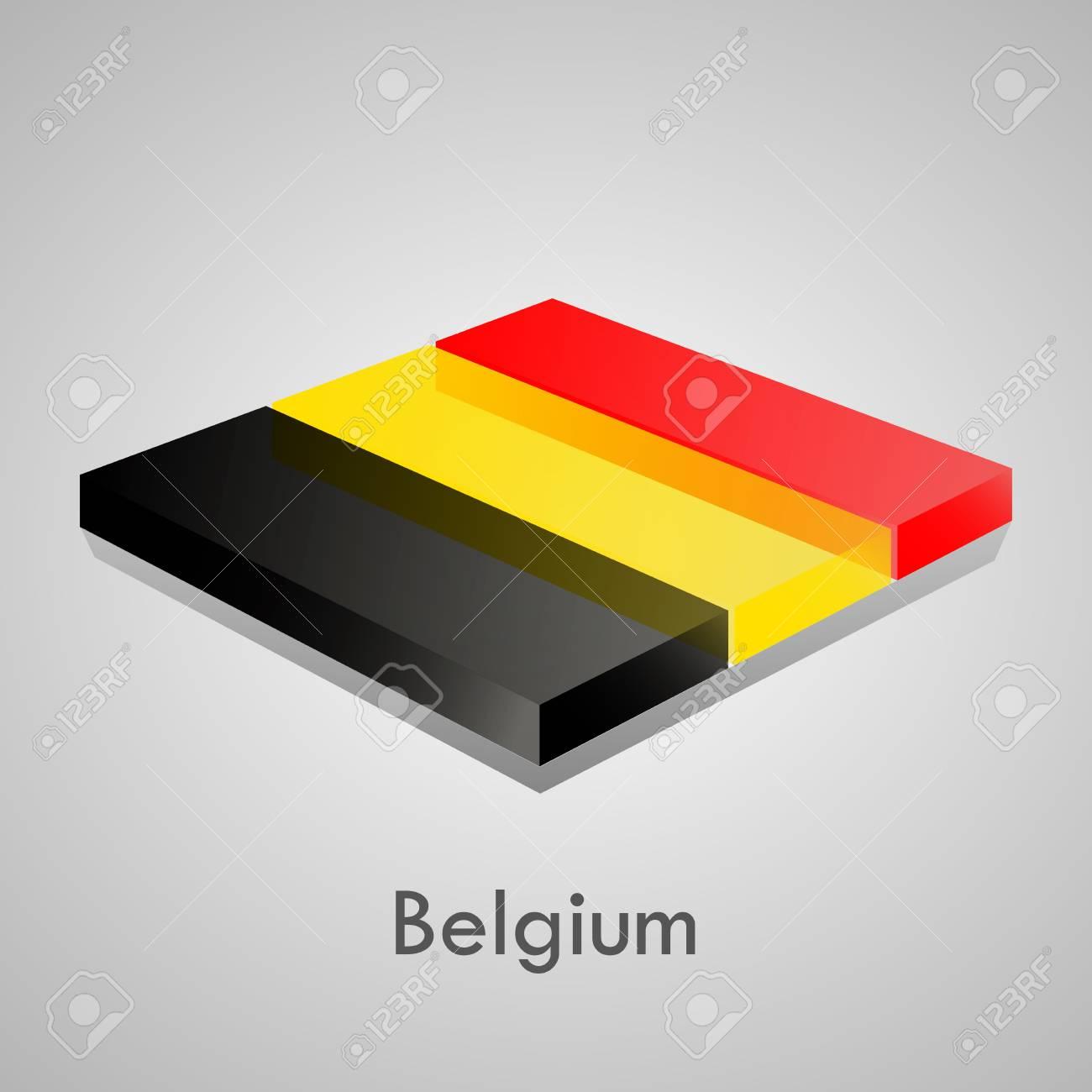 European flags set  glossy bricks Stock Vector - 18266706
