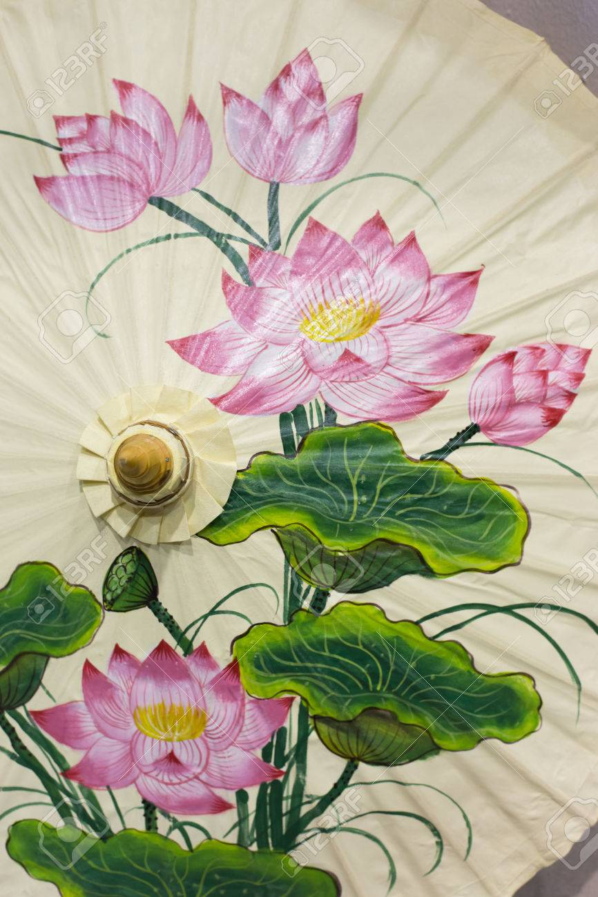 Lotus Blossom Painting Topsimages