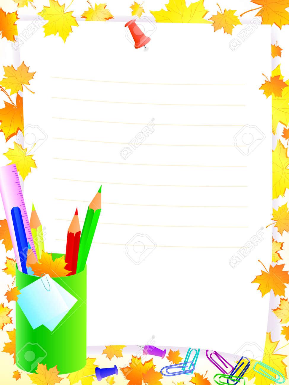 TILEs Escolares Con Marco Para El Texto De La Gira Contra Amarillo Y ...