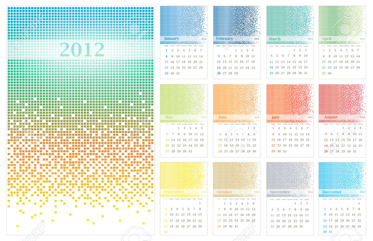 Contemporary Decorative Wall Calendar Organizer Model - The Wall Art ...