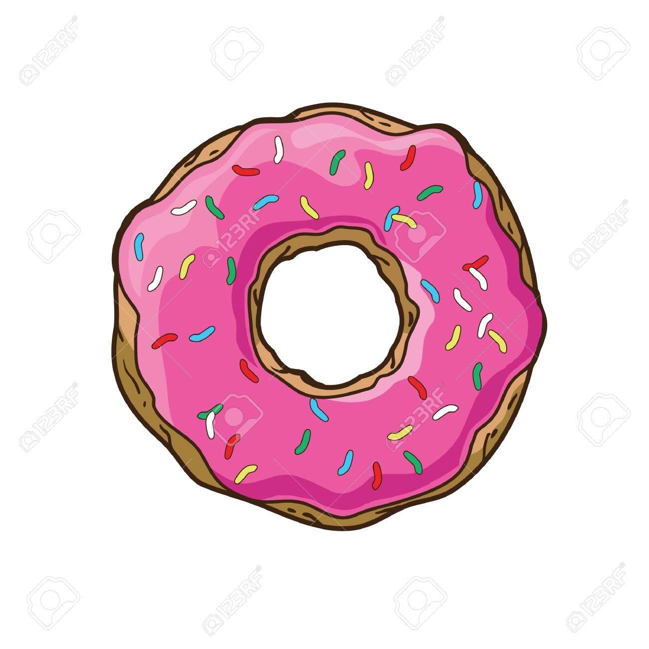 Vector donut - 21523912