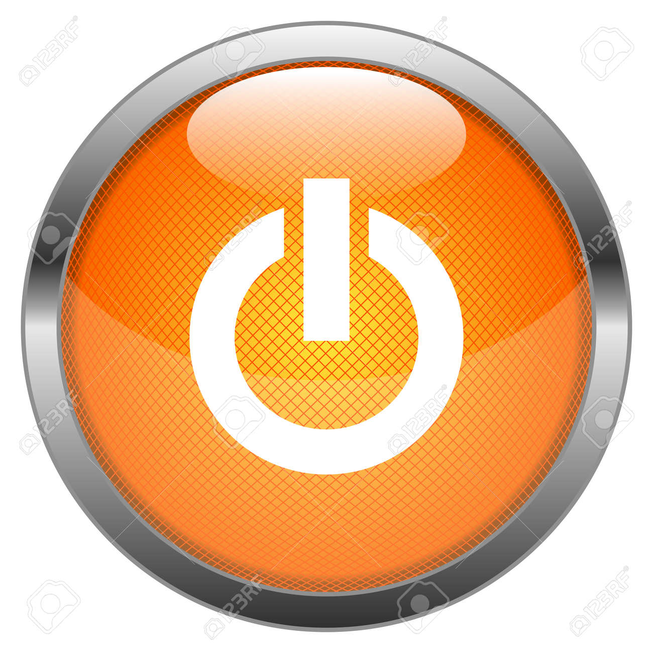 Button On Off Switch Stock Vector - 16404107