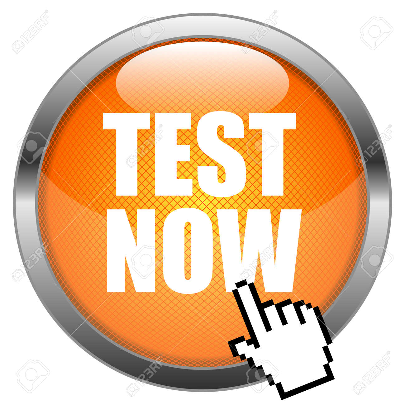 Button Test Now Royalty Free Cliparts, Vectors, And Stock Illustration.  Image 16852545.