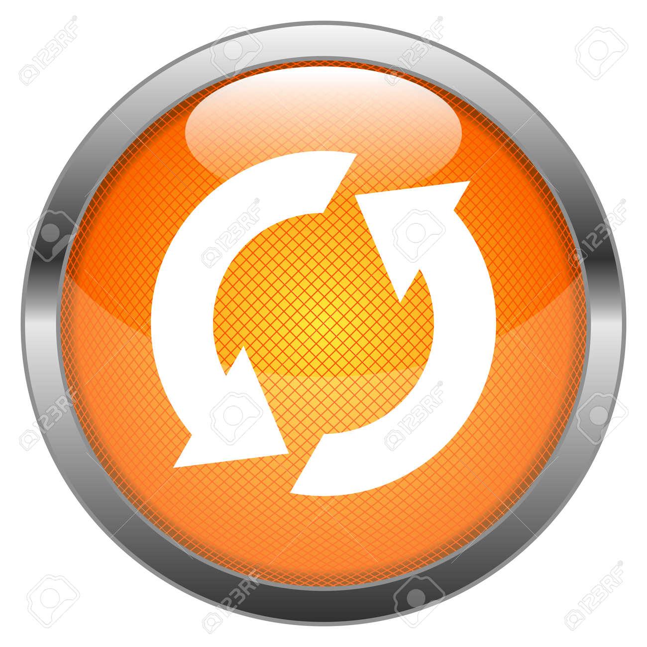 Vector Button Reload Stock Vector - 18387653
