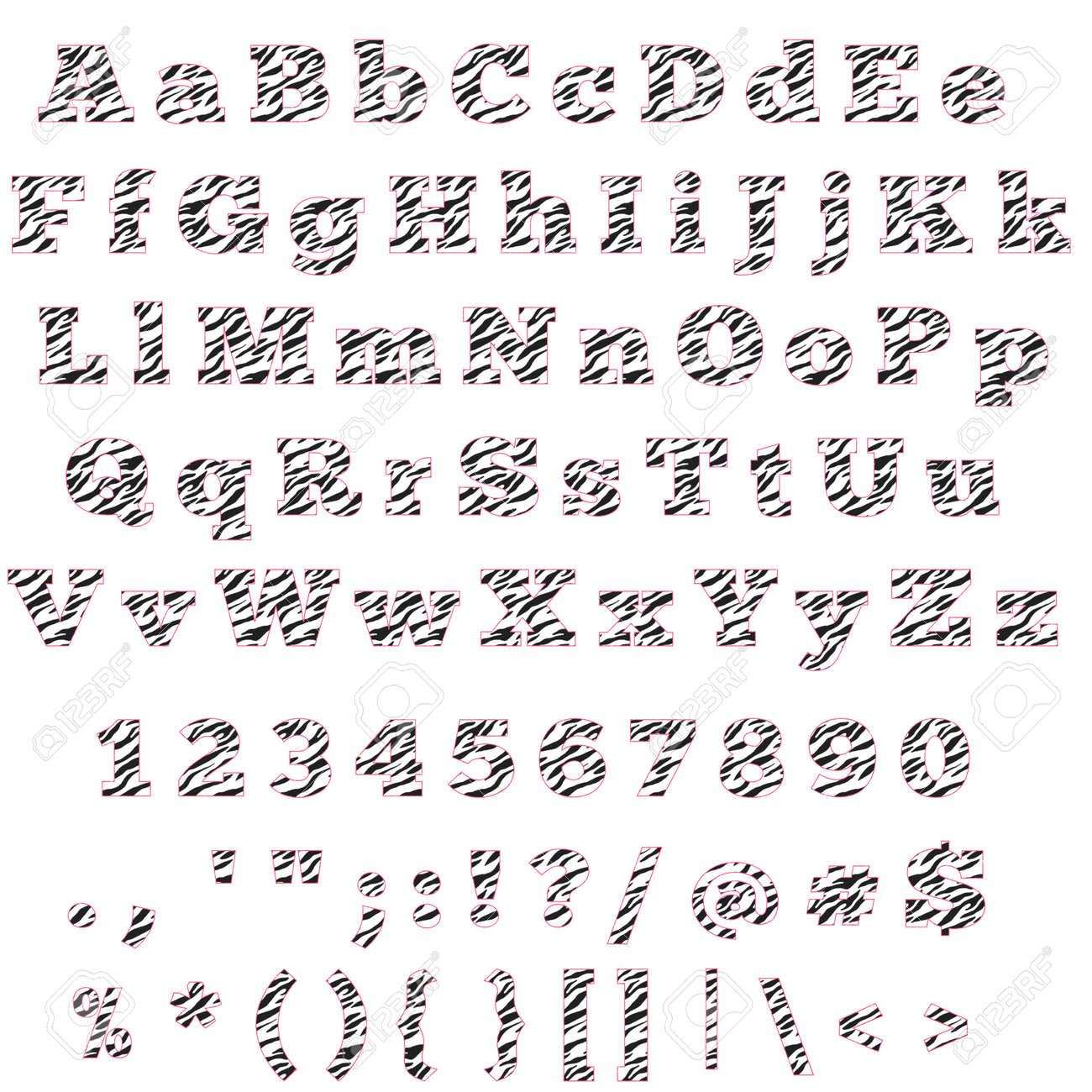 alphabet letters and symbols photo zebra hot pink alphabet letters numbers symbols